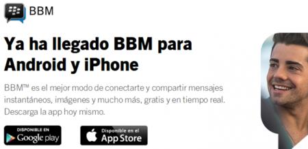 BlackBerry Messenger en iOS y Android: 5 millones de activaciones en 8 horas