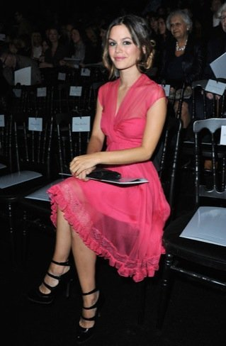Semana de la Moda de París Rachel Bilson