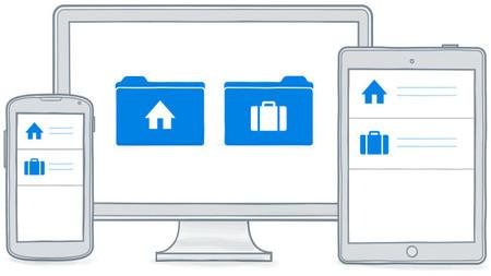 Dropbox unifica la interfaz de la cuenta personal y la profesional