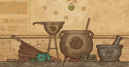 Sumando horas en Potion Craft: de crear pociones para quemar enemigos a preparar viagra embotellada