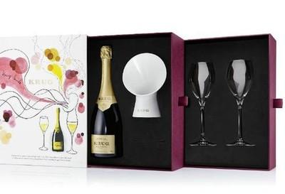 Krug Sounds, el sonido de las burbujas del champagne