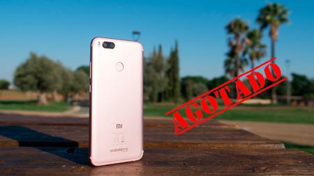 Confirmado: el Xiaomi Mi A1 está siendo un éxito de ventas en España