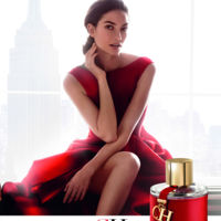 Lily Aldridge protagoniza la nueva campaña de la fragancia CH de The House of Herrera