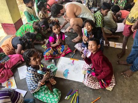 Kanva Liquitex Escola Uma Sankar 2
