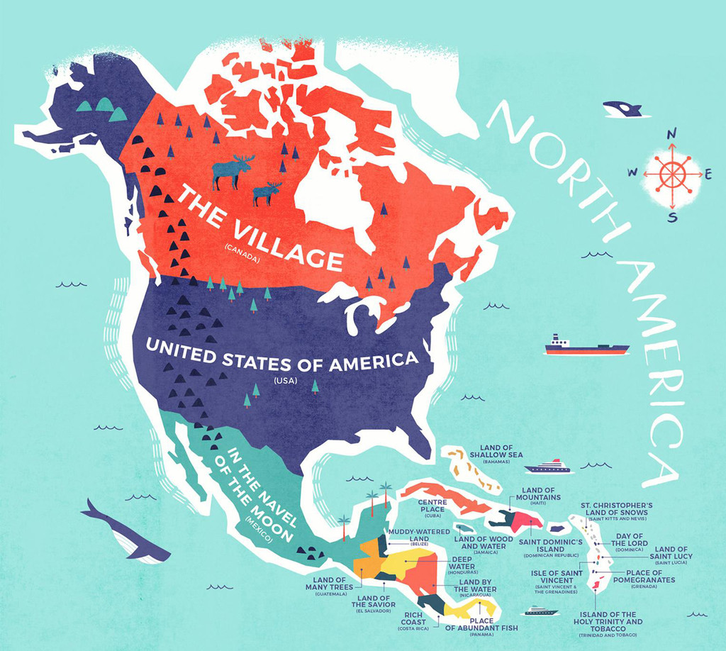 Nombres De Norteamerica
