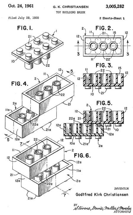 patente-lego