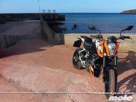 KTM 125 Duke, la peque de la familia