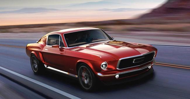 Este Aviar Motors R67 es un coche eléctrico ruso con aspecto de Ford Mustang clásico de 1967