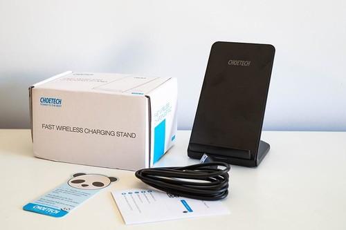 Análisis del cargador rápido inalámbrico Choetech Fast Wireless Charging Stand: otra opción de carga inalámbrica que cumple por poco dinero