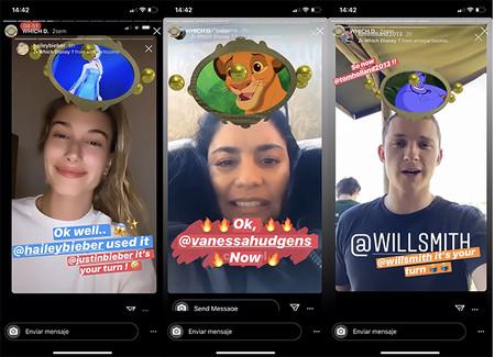 Filtro Disney Instagram