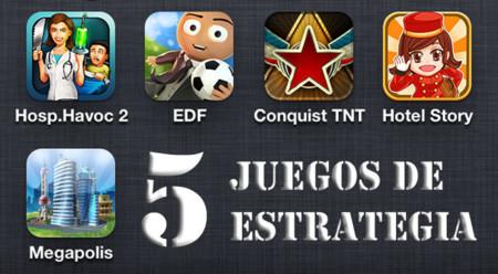 Los cinco mejores juegos de estrategia gratuitos para iOS