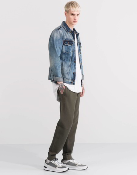 Denim Jacket Spring Summer 2016 Trendencias Hombre