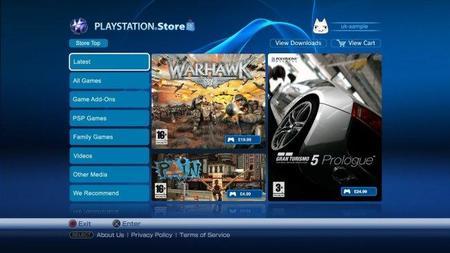 Sin PlayStation Store por el momento