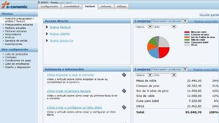 e-Conomic permite automatizar el cálculo de retenciones de profesionales y alquileres