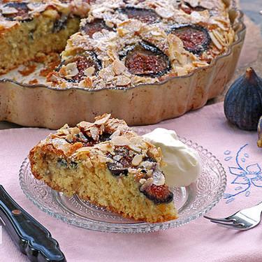 Cake de higos con almendras: receta para una merienda de verano