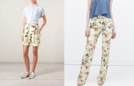 Gucci Zara Flora Print