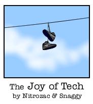 """Las tiras de """"Joy of tech"""" traducidas al español, en Planetamac"""