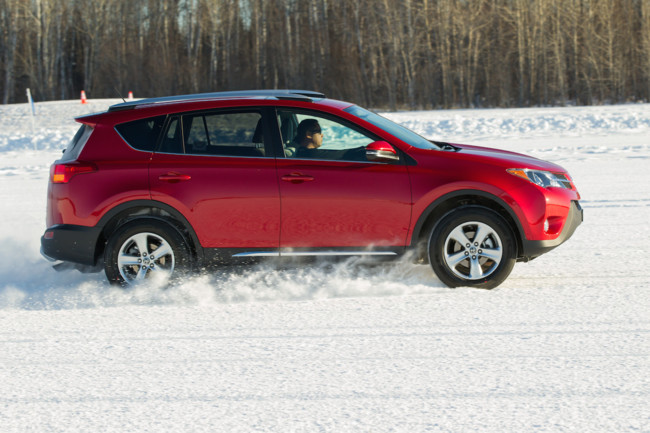 2015 Toyota Rav4 Snow