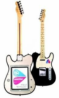 Intel y Fender presentan una guitarra con ordenador incorporado