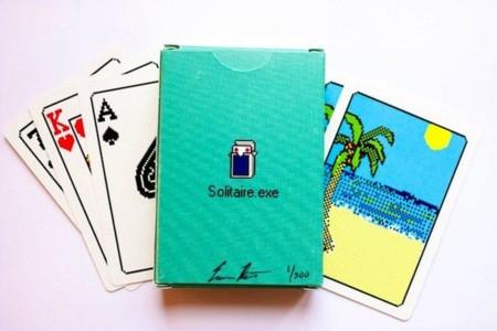 baraja cartas solitarie