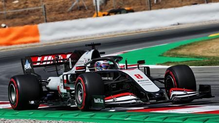 Grosjean Barcelona F1 2020