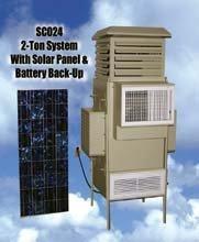 SolCool Hybrid Solar Chiller, aire acondicionado de diseño