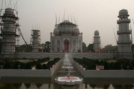 Réplica del Taj Mahal en Bangladesh