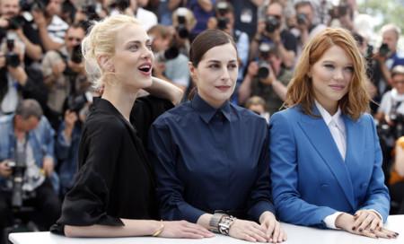 Festival de cine de Cannes Yves Saint Laurent Lea Seydoux Aymeline Valade Amira Casar
