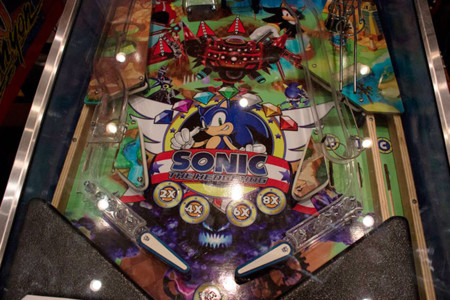 Sonic Playfield