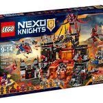 Guarida volcánica de Jestro de Lego Nexo Knights con 50 euros de descuento