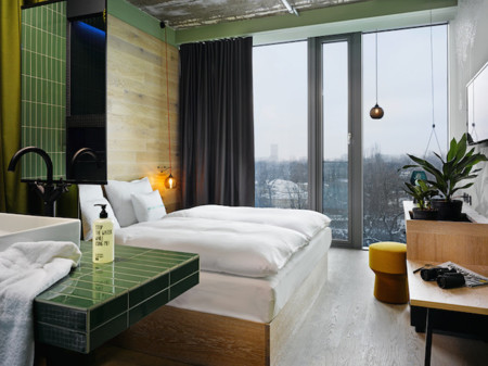 hotel bikini berlin habitacion lavabo