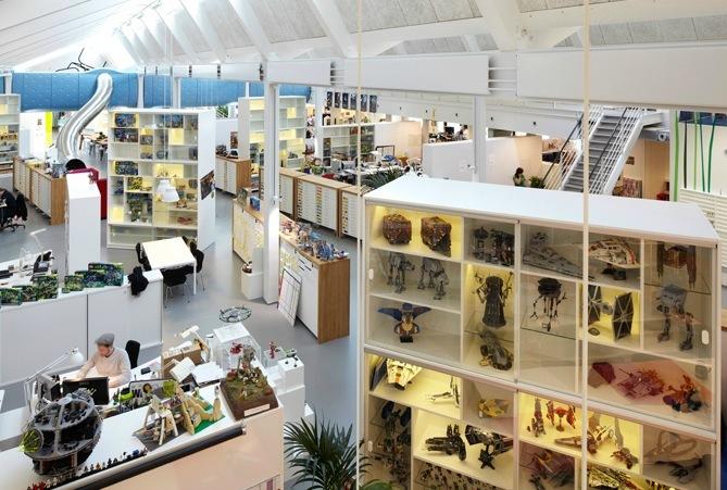 Espacios para trabajar: las renovadas oficinas de Lego