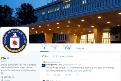 La CIA ha abierto su cuenta en Twitter y Facebook