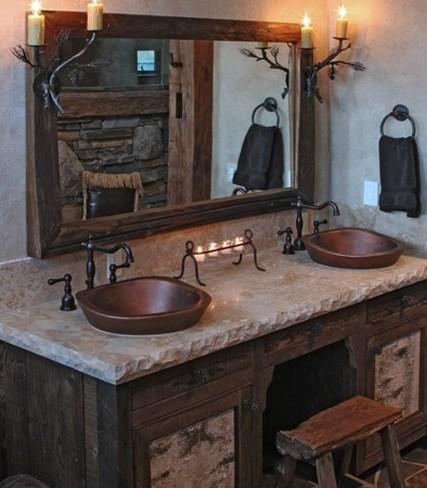 Cinco lavabos diferentes - Mueble lavabo rustico ...