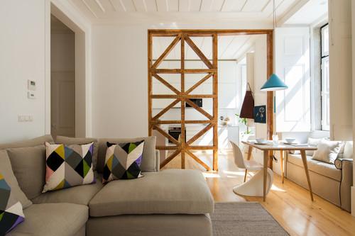 Nueve ideas inspiradoras (vía Pinterest) para separar ambientes en casa