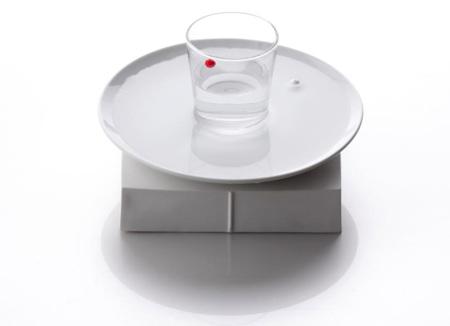 Un reloj de agua