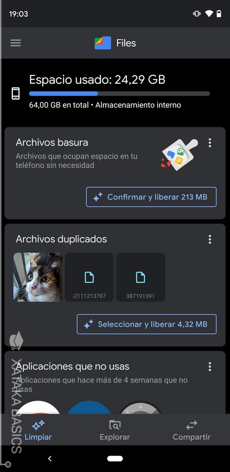 Limpia Android