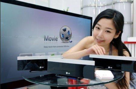 Art Cinema DP1 es el nuevo reproductor WiFi de LG para tu salón