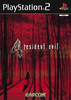 Carátula del Resident Evil 4 para PS2