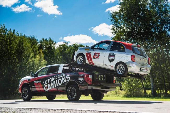 Nissan Titan Hauler XD, cuando la hermana mayor carga al hermanito más pequeño
