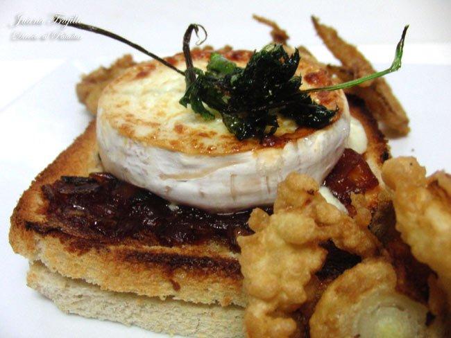 Receta de endivias al caramelo con queso de cabra Cocinar queso de cabra