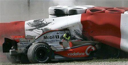 La verdad del accidente de Kovalainen en el Gran Premio de España