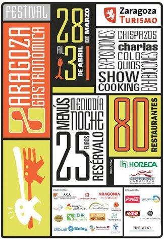 Llega Zaragoza Gastronómica