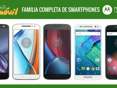 Así queda el catálogo completo de smartphones Motorola tras la llegada del nuevo Moto E3