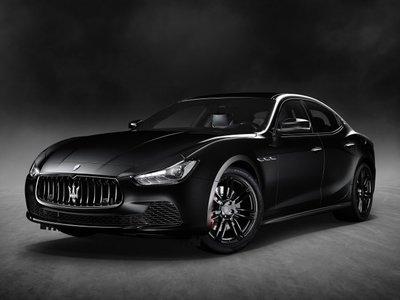 Maserati Ghibli Nerissimo, la versión más negra de la marca está limitada a 450 unidades