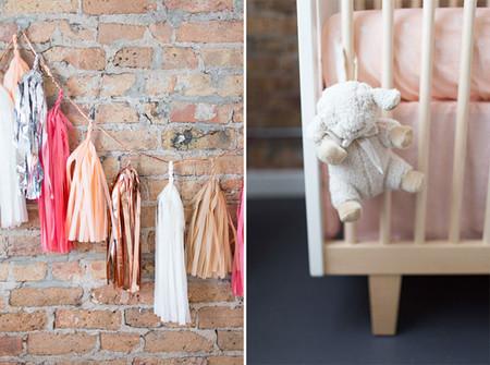 Bebés en gris y rosa: una idea que no puedes perderte