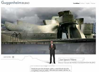 La renovada web del Museo Guggenheim Bilbao