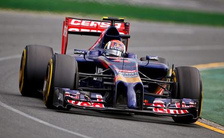 Daniil Kvyat 2014 F1 Melbourne