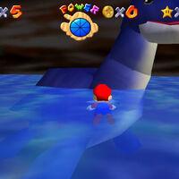 Super Mario 64: cómo conseguir la estrella Swimming Beast in the Cavern de Hazy Maze Cave