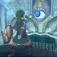 The Legend of Zelda: Skyward Sword HD: cómo resolver el puzle de los ojos en el Templo de la Contemplación